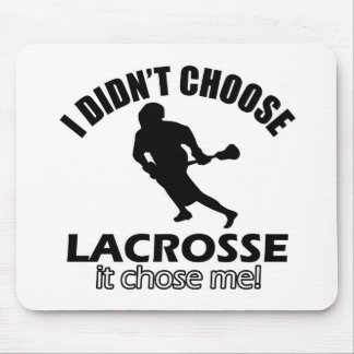 Didn't choose lacrosse mouse pad