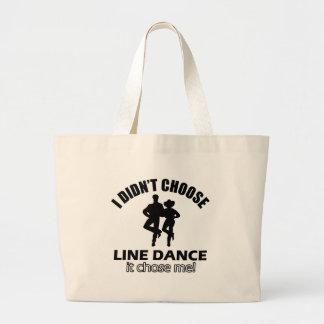 Didn't choose Line Dance Tote Bags