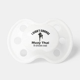 Didn't choose muay thai pacifier