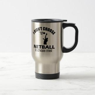 Didn't choose Netball Coffee Mugs
