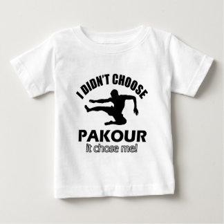 Didn't choose pakour tee shirt