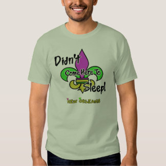 Didn't Come Here To Sleep-Mens T-Shirt