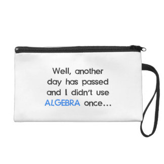 Didn't Use Algebra Once Today Wristlets