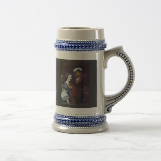 Dido And Aeneas By ? Kréta Karel (Best Quality) 18 Oz Beer Stein