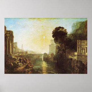 Dido Building Carthage Canvas Print