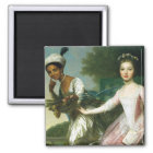 Dido Elizabeth Belle and Lady Murray Magnet