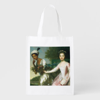 Dido Elizabeth Belle and Lady Murray Reusable Grocery Bag