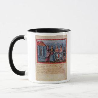 Dido making a sacrifice, from Vergilius Vaticanus Mug