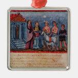 Dido que hace un sacrificio, de Vergilius Vaticanu Ornamentos De Reyes