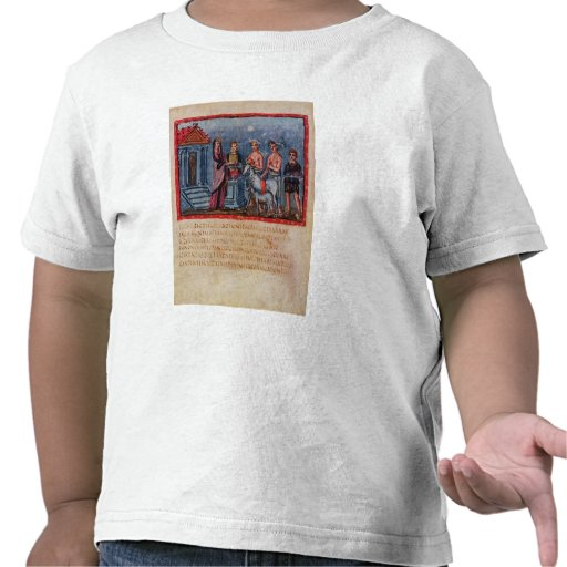 Dido que hace un sacrificio, de Vergilius Vaticanu Camiseta