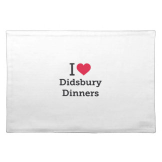 Didsbury Dinners' Placemats