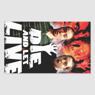 Die and Let Live Movie Poster Stickers