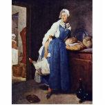 Die Besorgerin By Chardin Jean-Baptiste Siméon (Be Cut Outs