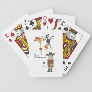 Die Bremer Stadtmusikanten Playing Cards