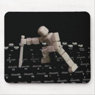 Die Computer, Die! Mouse Pad