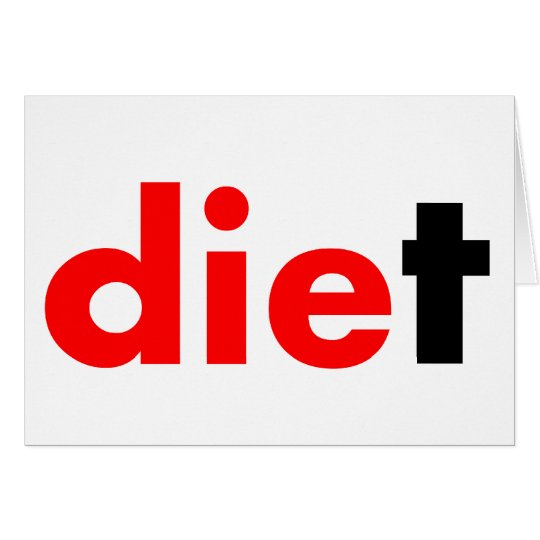 Die Diet Card