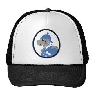 Die Dogge als Bismarck Trucker Hat
