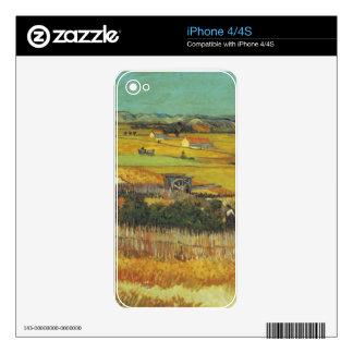 Die Ernte. Arles, ca. 12. Juni 1888 iPhone 4S Decals