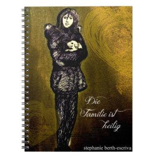 Die Familie STI heilig - Notizbuch Spiral Notebook