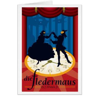 Die Fledermaus, Opera Card