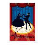 Die Fledermaus, Opera Postcard