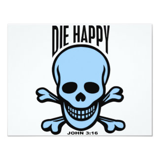 Die Happy Custom Invitation