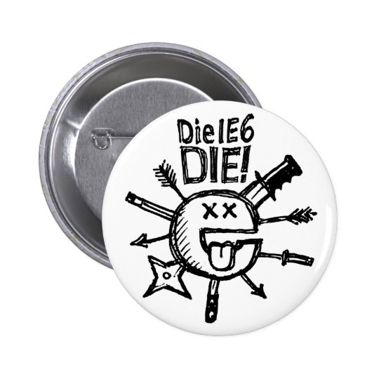Die IE6 DIE! Sketchnote Button