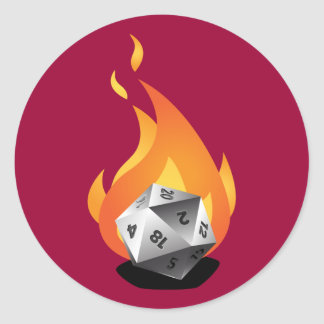 Die in a Fire D I A F Sticker