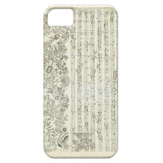 Die Kunst der Fuge iPhone SE/5/5s Case