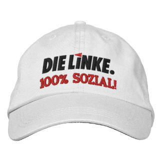Die Linke Left Party Germany Deutschland Embroidered Baseball Hat