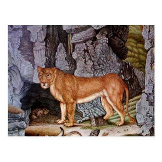Die Löwin or The Lioness (1832) Postcard