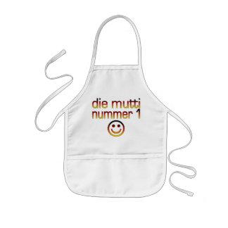 Die Mutti Nummer 1 ( Number 1 Mom in German ) Kids' Apron