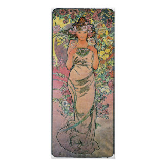 Die Rose by Alfons Mucha 1898 Poster