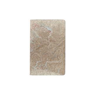 Die Schweiz,  Switzerland Atlas Map Pocket Moleskine Notebook