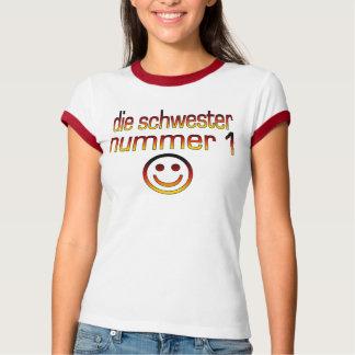 Die Schwester Nummer 1 - Number 1 Sister in German T-Shirt