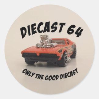 Diecast 64 Sticker