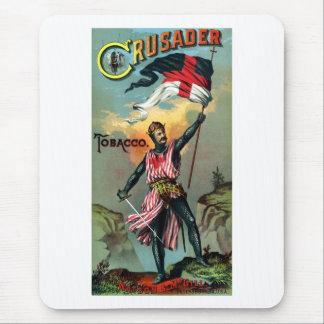 diecinueveavo C. Poster del tabaco del cruzado Tapetes De Ratones