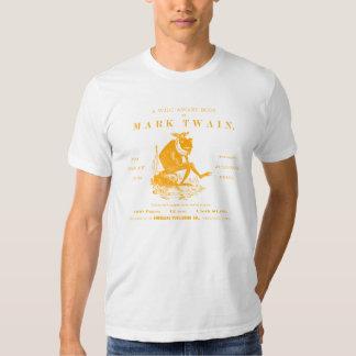 diecinueveavo C. Rana de salto de Twains de las Playera