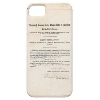 Diecinueveavo constitución de los E E U U de la e iPhone 5 Protectores