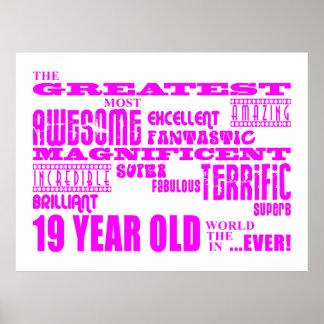 Diecinueveavo cumpleaños de los chicas: 19 años má póster