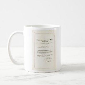diecinueveavo Enmienda a la constitución de Taza De Café