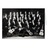diecinueveavo Grupo musical para hombre de C Tarjetas