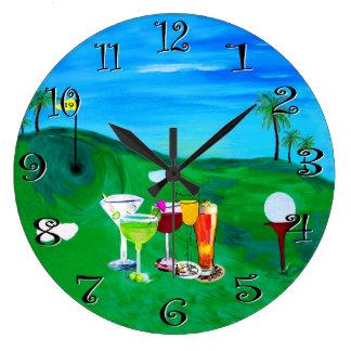 diecinueveavo reloj del golf del agujero de mi