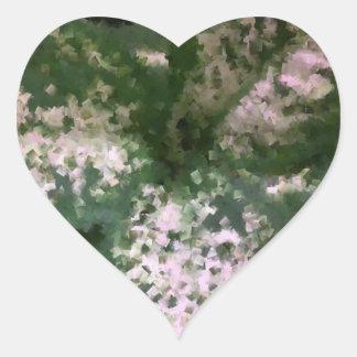 Dieffenbachia Heart Sticker