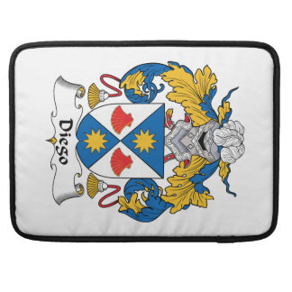 Diego Family Crest Sleeves For MacBook Pro