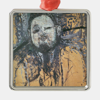 Diego Rivera  1916 Square Metal Christmas Ornament