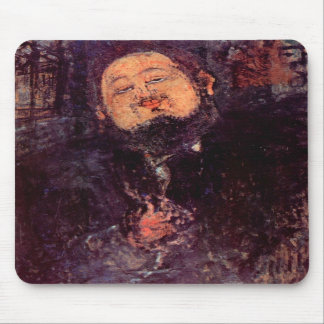 Diego Rivera by Amedeo Modigliani Mousepad