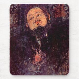 Diego Rivera de Amedeo Modigliani Alfombrilla De Ratón