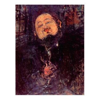 Diego Rivera de Amedeo Modigliani Tarjeta Postal