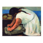 Diego Rivera  - La Molendera, 1923 Postcards